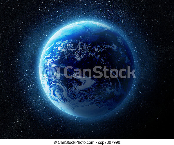 aarde, ruimte - csp7807990