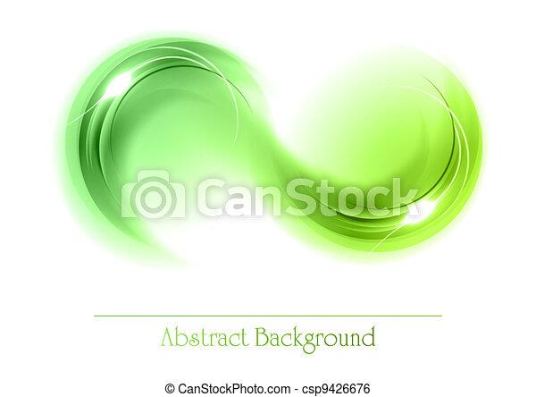 abstract, voorwerpen, groene - csp9426676