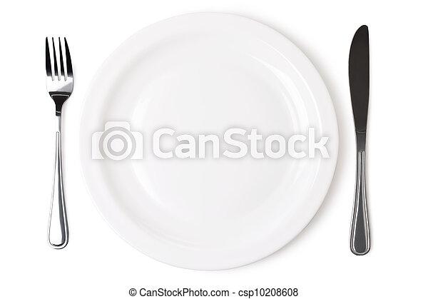 af)knippen, uitstekend, steegjes, bestand, set, voorwerp, witte , omvat, keuken, achtergrond. - csp10208608