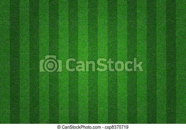 akker, achtergrond, groene, voetbal, gras - csp8370719