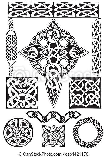 art-collection., keltisch - csp4421170
