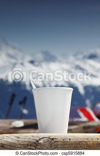 bergen, koffie - csp5915884