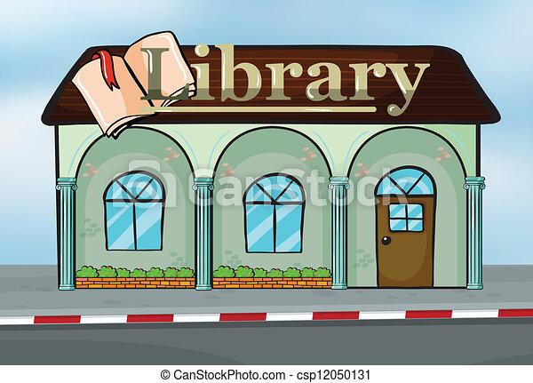bibliotheek - csp12050131