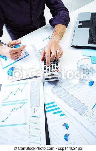 boekhouding, opmerkingen - csp14402463