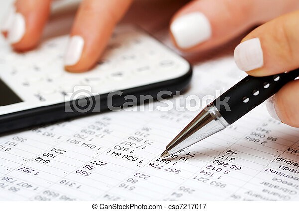boekhouding - csp7217017