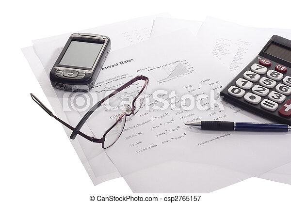 boekhouding, zakelijk - csp2765157