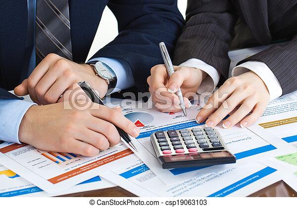 boekhouding, zakelijk - csp19063103