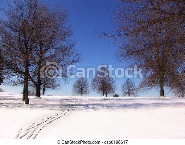 boom winter - csp0198617