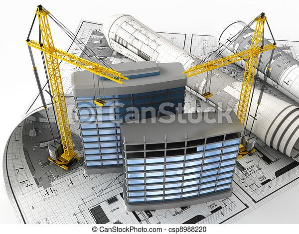 bouwsector - csp8988220