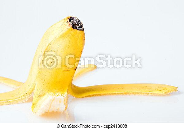 boven., afsluiten, bananenschil - csp2413008