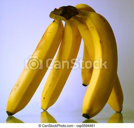 close-up, banaan - csp0594461
