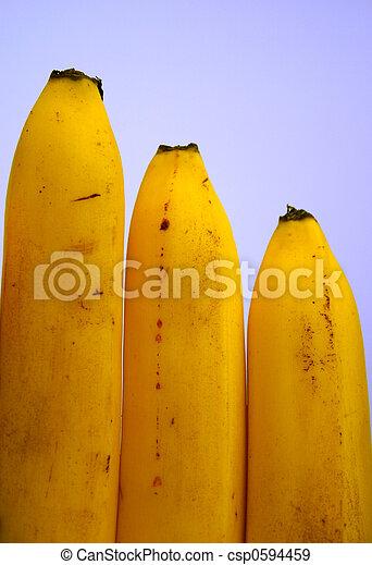 close-up, banaan - csp0594459
