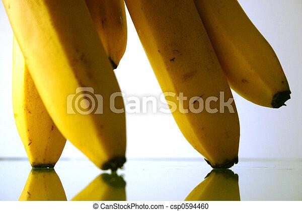 close-up, banaan - csp0594460