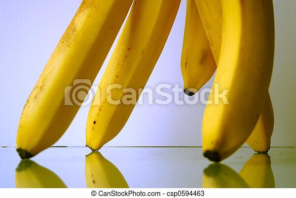 close-up, banaan - csp0594463