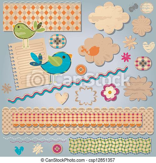 communie, ontwerp, textured - csp12851357
