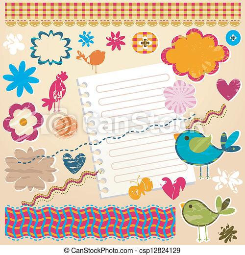 communie, ontwerp, textured - csp12824129