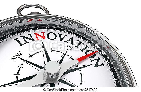 concept, innovatie, kompas - csp7817499