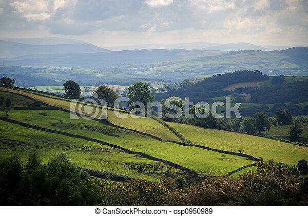 cumbrian, landscape - csp0950989