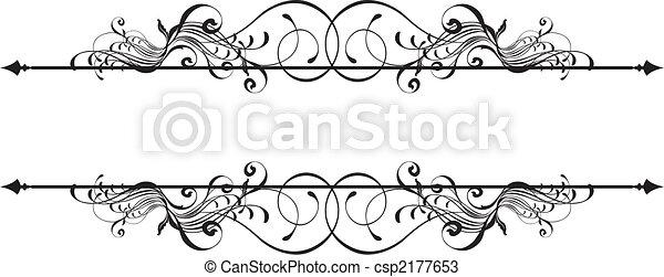 decoratief, spandoek, beauty - csp2177653