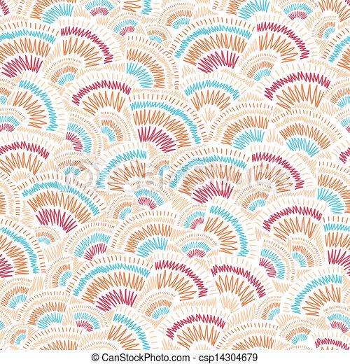 doodle, textured, seamless, achtergrondmodel, geometrisch - csp14304679