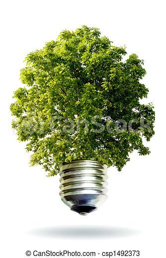 energie, concept, vernieuwbaar - csp1492373