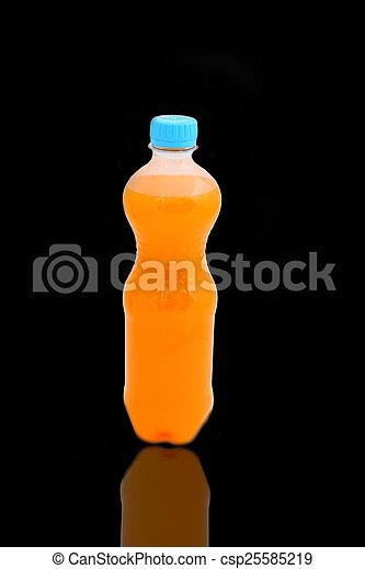 fles, plastic - csp25585219