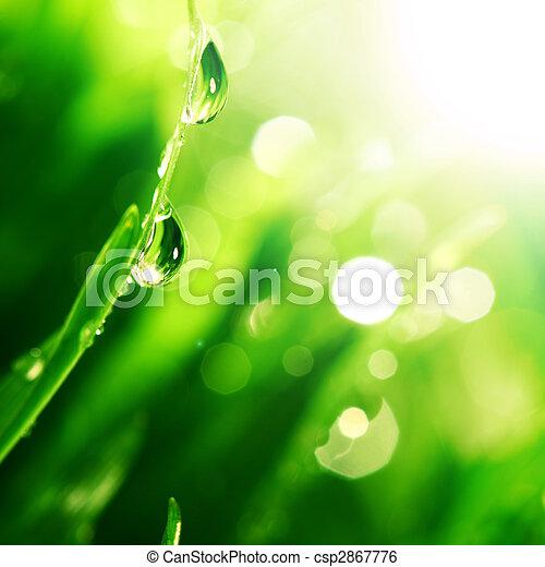 glanzen, waterdaling - csp2867776
