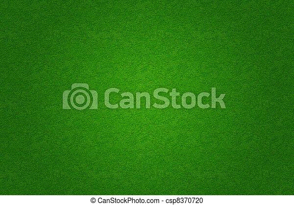 gras, golf, akker, groene achtergrond, voetbal, of - csp8370720