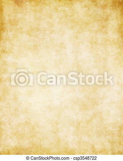 groot, oud, textuur, papier, achtergrond, perkament - csp3548722