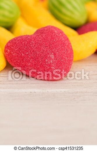 hart, gelei, rood - csp41531235
