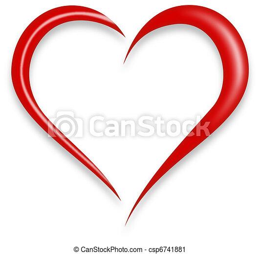 hart, liefde - csp6741881
