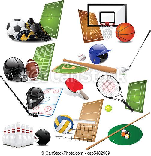 iconen, sportende - csp5482909