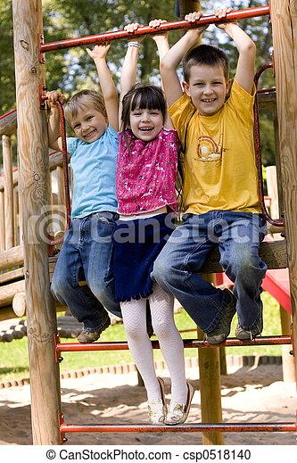 kinderen, vrolijke  - csp0518140