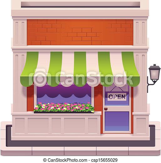 kleine, winkel, vector, pictogram - csp15655029