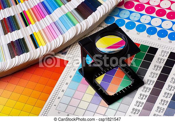 kleur, management, set - csp1821547