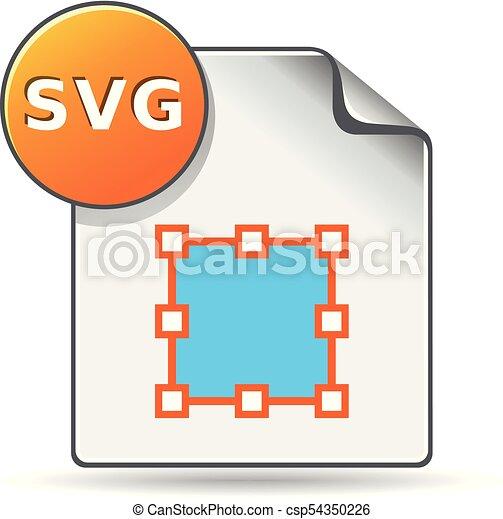kleur, svg, -, bestand, pictogram - csp54350226