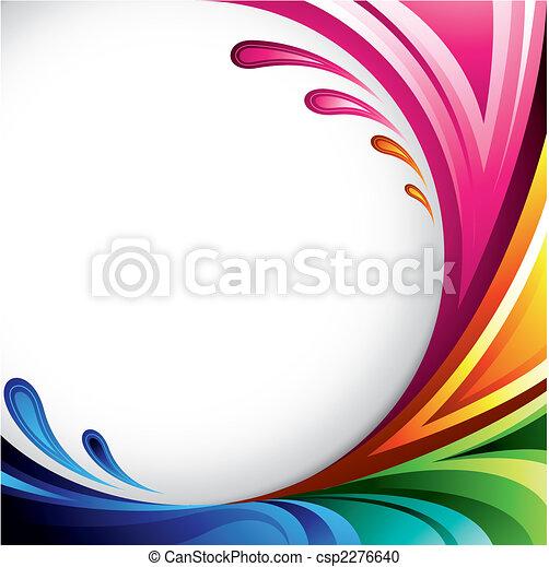 kleurrijke, achtergrond - csp2276640