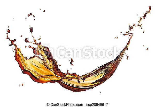 koffie, gespetter - csp20649617