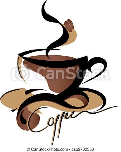 koffie, meldingsbord - csp3702550