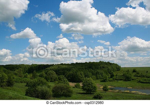 lente, landscape - csp0312980