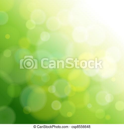 licht, abstract, groene, achtergrond. - csp8556648