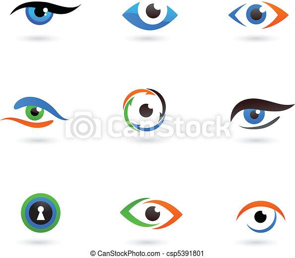 logos, oog - csp5391801