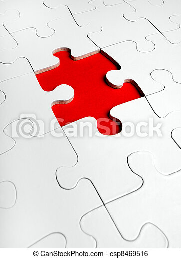 missende , puzzelstuk, jigsaw - csp8469516