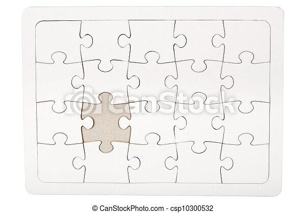 missende , puzzelstuk, jigsaw - csp10300532