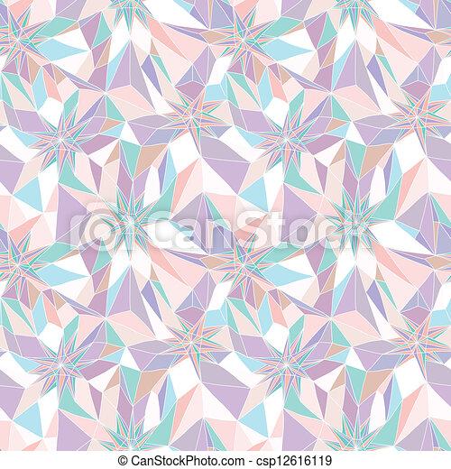model, abstract, seamless, geometrisch - csp12616119