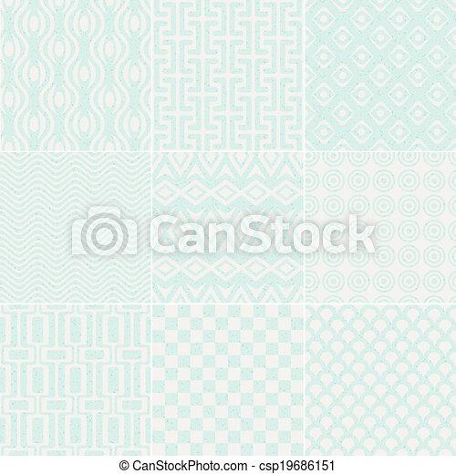 model, geometrisch, seamless, textured - csp19686151