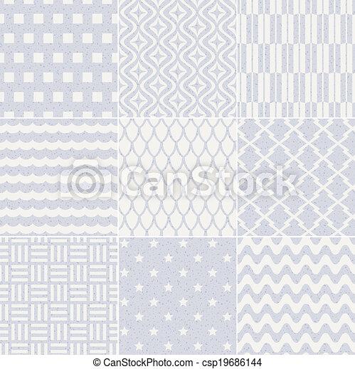model, geometrisch, seamless, textured - csp19686144