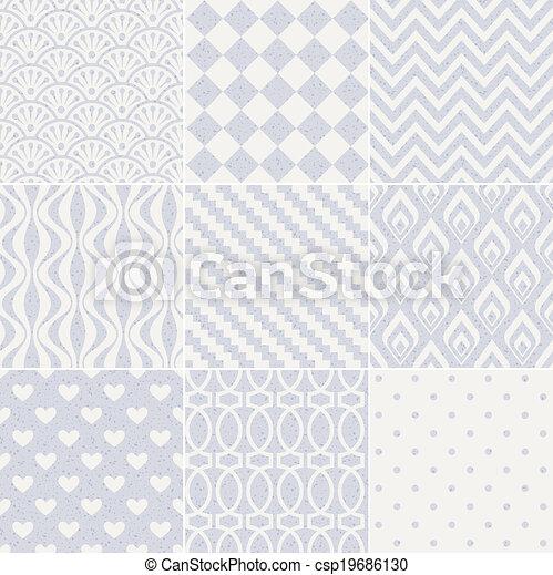 model, geometrisch, seamless, textured - csp19686130