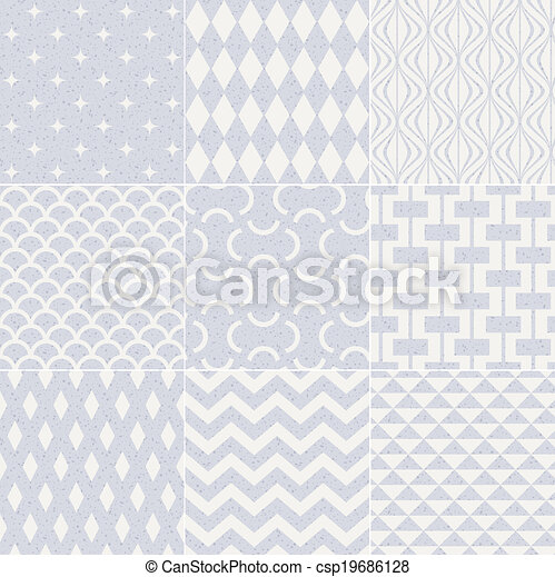 model, geometrisch, seamless, textured - csp19686128