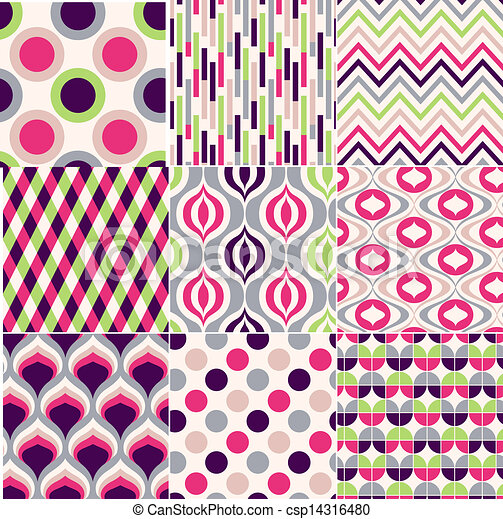 model, kleurrijke, seamless, geometrisch - csp14316480